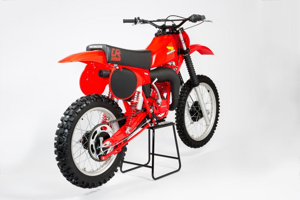 1980 honda cr125 elsinore rear right side