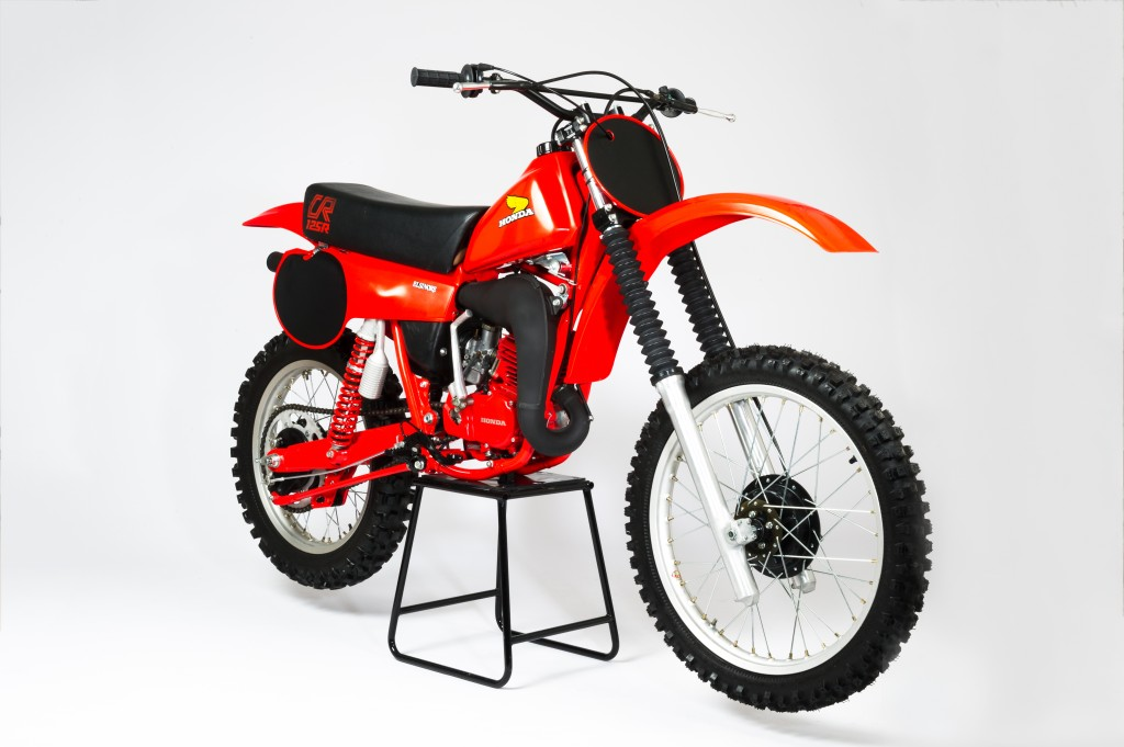 1980 honda cr125 elsinore front right side