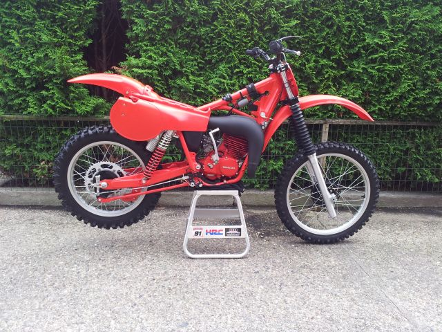 Restored 1980 Honda CR125 Elsinore by vintagehonda.nl