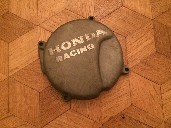 HRC honda racing ignition cover CR250