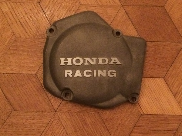 CR125 Honda Racing ignition cover