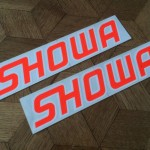 Showa works factory decals