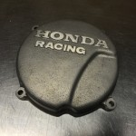 Honda racing ignition cover