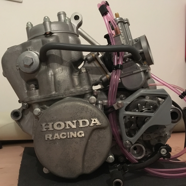 HRC RC250 engine