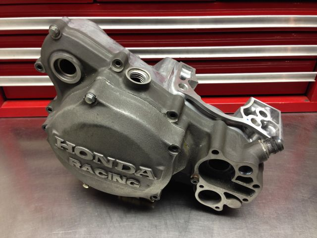 Honda racing magnesium clutch cover RWJ Honda
